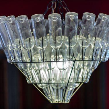 Distillerie de Pézenas - lustre zoomé